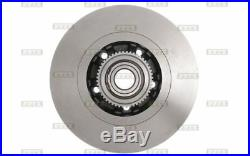2x BOLK Disques de Frein Arrière Plein 280mm Pour RENAULT TRAFIC BOL-E051007