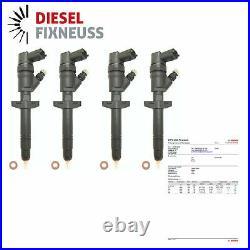 4x Injecteur Injecteur Opel Renault Trafik II Maître II 2.5 DCI bosch 0445110087