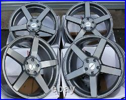 8.5 X 19 GM Ccq M Roues Alliage Pour 5X118 Opel Vivaro Renault Trafic