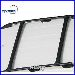 Barres de toit noir Renault Trafic / Opel Vivaro / Nissan Primastar 2001-2014