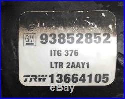 Bloc Hydraulique Abs Renault Trafic Opel Vivaro Nissan Primastar Trw 8200343525