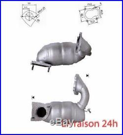 CATALYSEUR RENAULT TRAFIC 1.9TD DCI 1870 cc 74 Kw / 101 cv F9Q 01