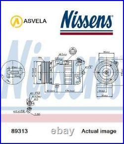 Compresseur Air Conditionné pour Renault Opel Nissan Fiat M9R NISSENS