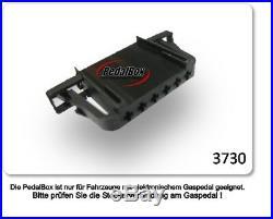 Dte Système Pedal Box 3S pour Renault Espace K à partir de 2002 2.0L DCI R4 96KW