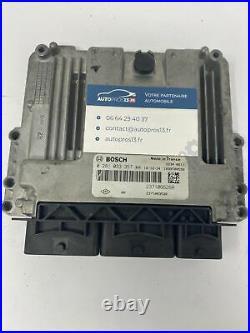 Ecu Calculateur De Moteur A Reprogrammer Renault Trafic 3 0281033357 237106626r