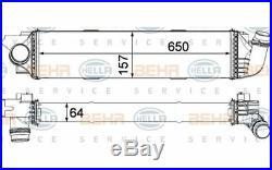 HELLA Intercooler 8ML 376 701-571 pour Renault Opel Vauxhall