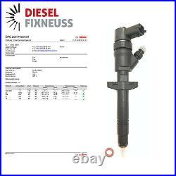 Injecteur Injecteur Opel Renault Trafik II Maître II 2.5 DCI bosch 0445110087