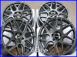 JANTES en Alliage X4 18 GM CR1 pour 5X118 OPEL VIVARO Renault Trafic + pneu
