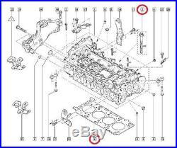Jeu De Joints Et Boulons De Culasse/haute Moteur Renault 2.0 DCI M9r 131/150ps