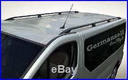 OPEL VIVARO -RENAULT TRAFIC L2 Long à partir de 2001 aluminium rails de toit