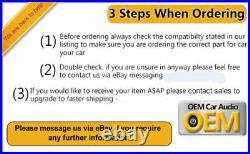 Opel Vivaro Lecteur CD Stéréo Bluetooth USB Aux Avec Code Radio 281156951R