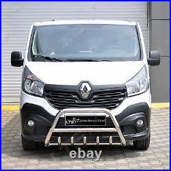 Opel Vivaro Renault Trafic 2015-2019 Chrome Essieu Coup A-Bar, Pare-Buffle