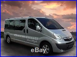 Opel Vivaro/Renault Trafic/Nissan Primastar L1 Aluminium Rails de Toit