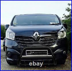 Opel Vivaro Renault Trafic Noir Essieu Coup A-Bar Pare-Buffle Garde 2015-2019