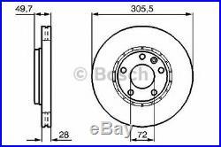 Paire Disques de frein BOSCH 0986479078 RENAULT