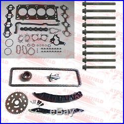 Pour Nissan Renault Opel 2.0 Dci Cdti M9R Kit Chaîne Distribution Tête Set Kit