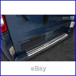 Protection Pare-Chocs en Acier Inoxydable Opel Vivaro/Renault Trafic/Nissan