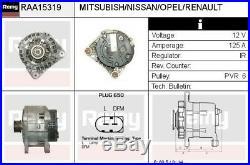 Remy RAA15319 Générateur Alternateur pour Nissan, Opel, Renault -pfandfrei- Bpe