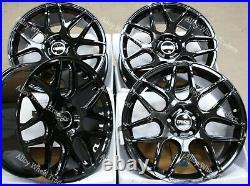 Roues Alliage 18 CR1 Pour 2014 Fiat Talento Renault Trafic Vivaro 5x114 Noir
