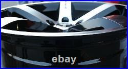 Roues Alliage X 4 20 Bm CRUIZE Lame pour Renault Trafic Peugeot Boxer 5x118