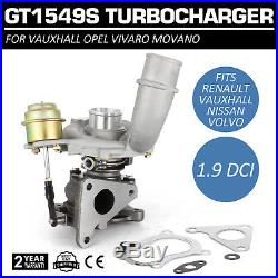 SET Turbocompresseur GT1549S 703245 751768 717345 pour Renault 1.9 dci Fast