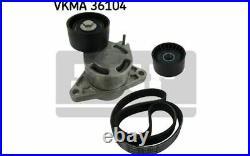 SKF Kit de courroies d'accessoire pour RENAULT MASTER TRAFIC VKMA 36104