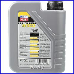 Sketch D'Inspection Filtre Liqui Moly Huile 7L 5W-40 pour Renault Megane Scenic