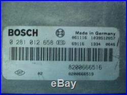 Standard Moteur Opel Vivaro Renault Nissan 0281012658 8200666516 8200666519